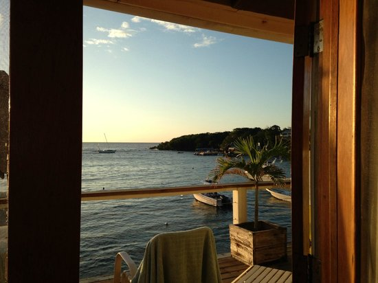 The Beach House : View from Room C