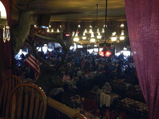 Big Texan Steak Ranch : Second floor view
