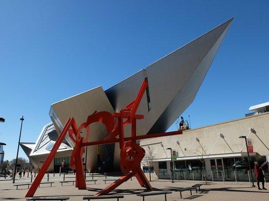 Denver Art Museum: Libeskind's architecture