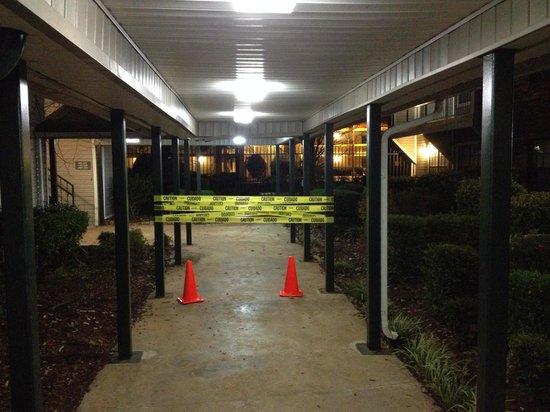 Ramada Huntsville: Crime scene or construction?