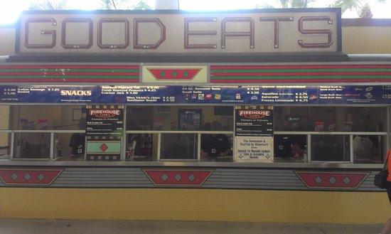 Joker Marchant Stadium: food!