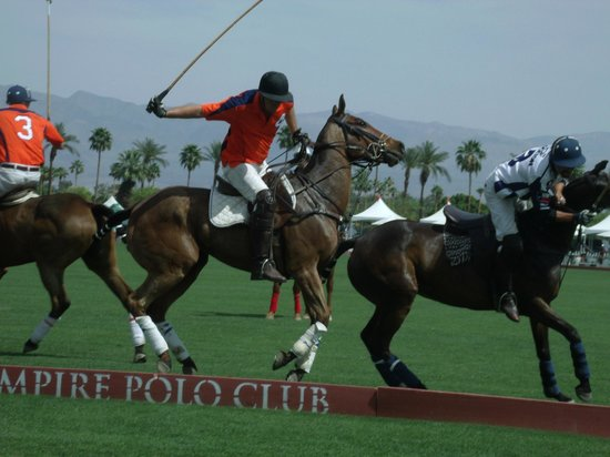 Empire Polo Club: Lots of action!