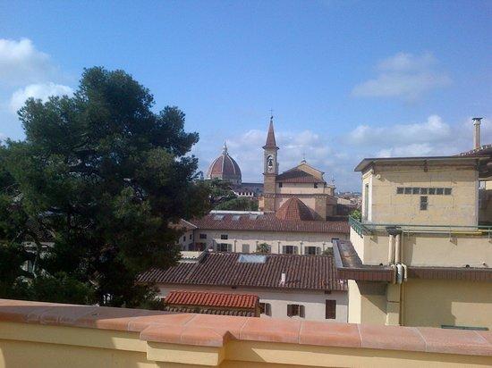 Albergo Hotel Panorama Firenze : e si perdona qualche pecca all'interno...