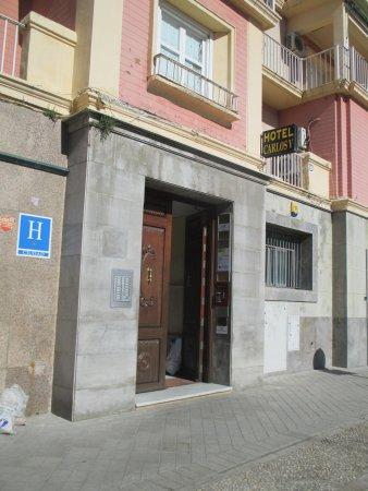 Hotel Carlos V: Entrance