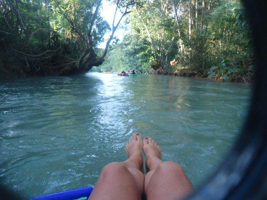 White River: Paseo entre la selva