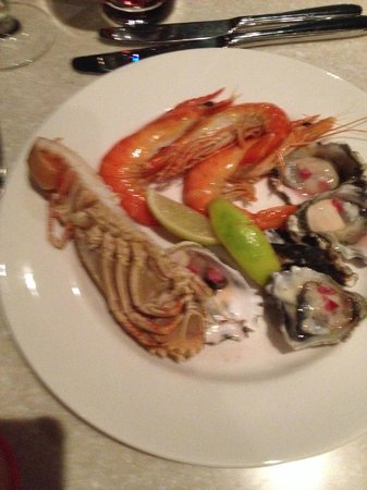 Sheraton on the Park, Sydney: buffet fruit de mer