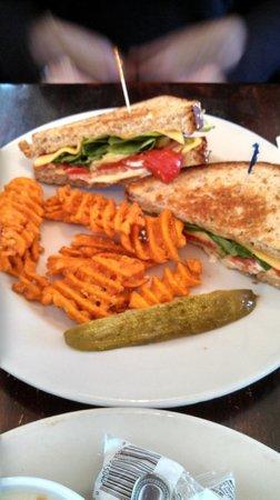 Titletown Brewing Company: My wife's veggie sandwich