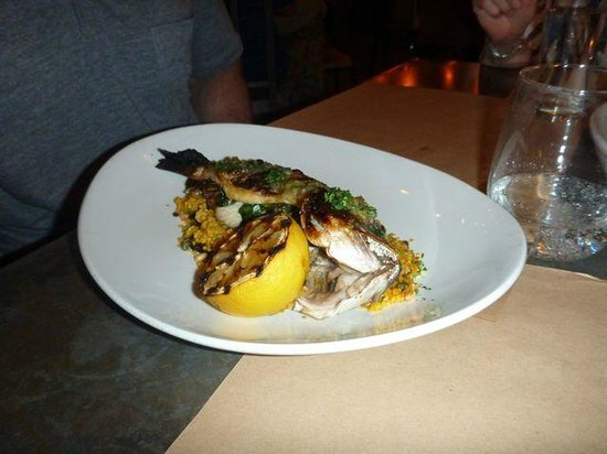 CUCINA urbana : Sea bass - with teeth!