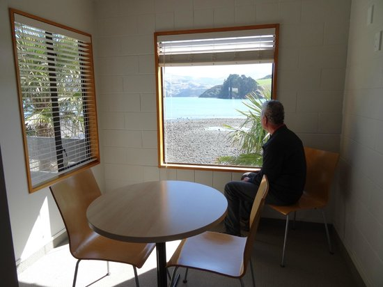 Akaroa Waterfront Motels: Dining area