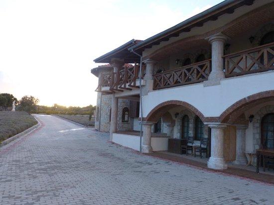 Yedi Bilgeler: Lovely courtyard
