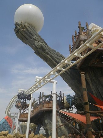 Yas Waterworld Abu Dhabi: YWWAD's Icon - The Pearl