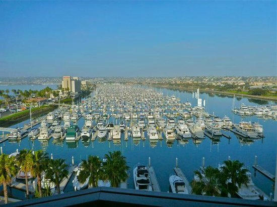 The Sheraton San Diego Hotel & Marina: View from room 1010