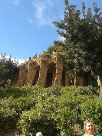 Parc Güell : Our time there
