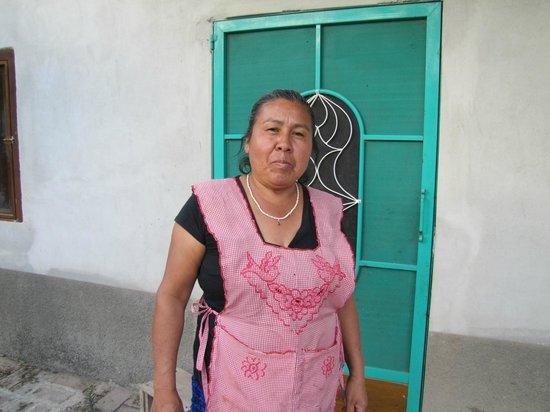 Fundacion En Via : A proud agricultural businesswoman