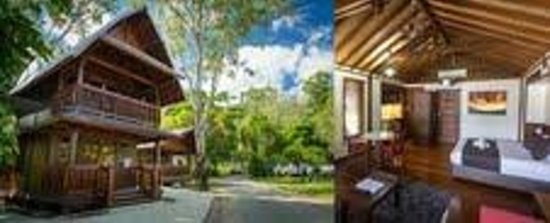 Seabreeze Tourist Park Airlie Beach: Fully self contained Bali villas