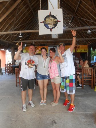 The Amazing Cozumel Race: Team Crazy 4