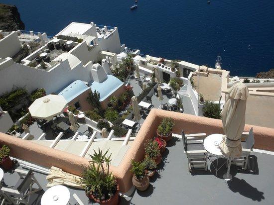 Hotel Kavalari : Terrace