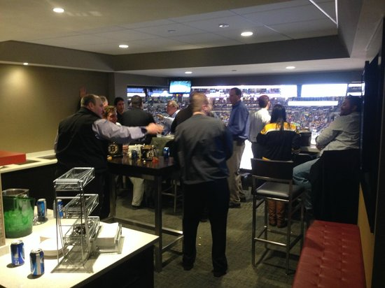TD Garden: View of the Box Suite