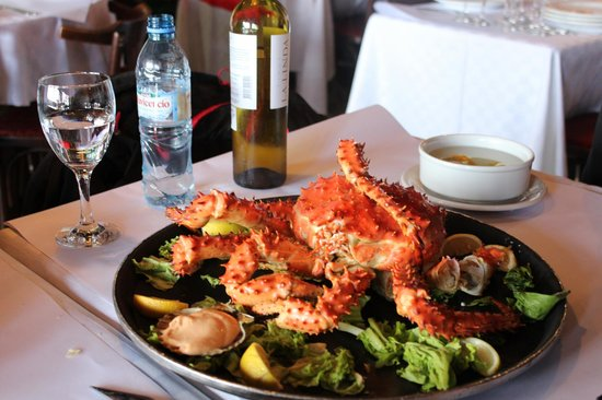Volver: King crab inteiro