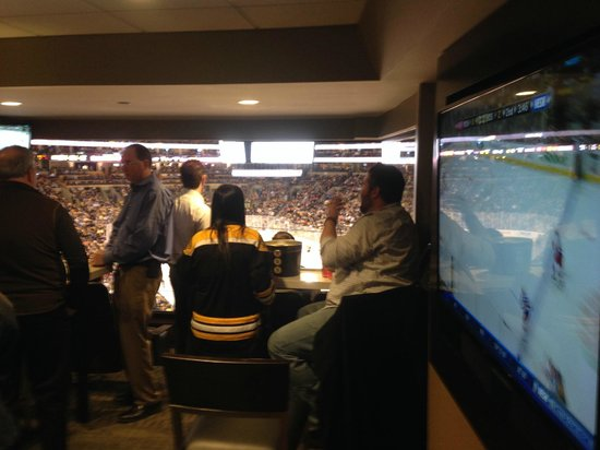 TD Garden: Large TV in Suite as well
