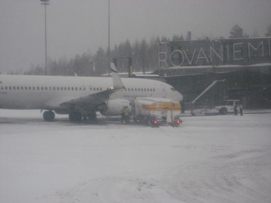 Santa Claus Holiday Village: Arrival in Snowstorm