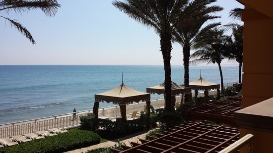 Eau Palm Beach Resort & Spa : View from the ocean front king suite