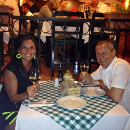 Il Baretto Italian Restaurant: En la terraza exterior - desde Chile