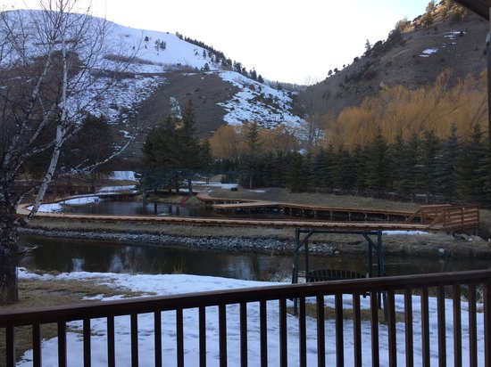 Rustic Inn Creekside Resort and Spa at Jackson Hole: The view from our cabin