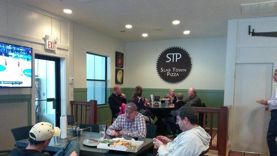 Slab Town Pizza: STP