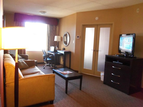 Holiday Inn Express & Suites Downtown Buffalo: Plenty of room!