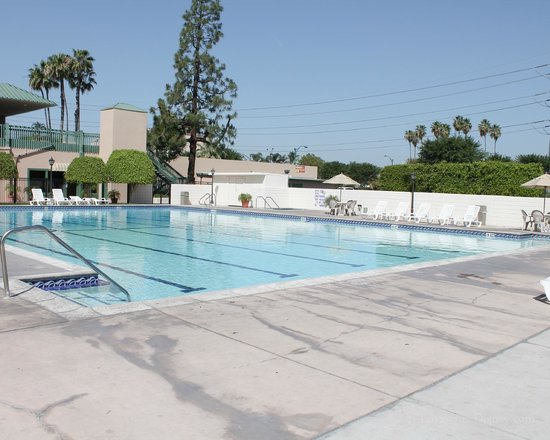 Anaheim Plaza Hotel and Suites: Olympic Size pool goes up to 11 feet deep