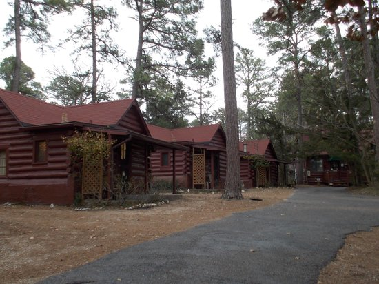 Tall Pines Inn: Little row of cabins