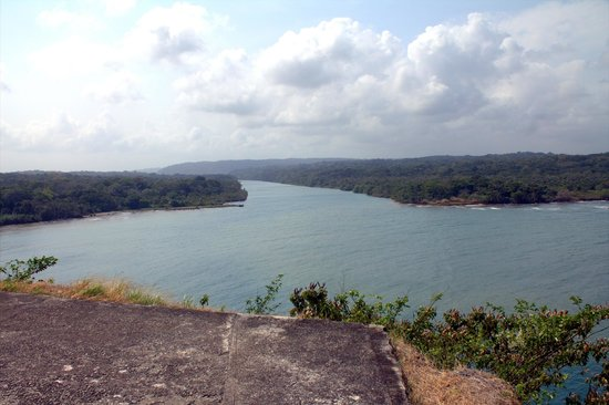 Fuerte de San Lorenzo: Rio Chagres