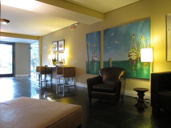 Hotel Porto da Ilha: Hall de entrada