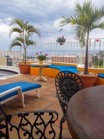 Hotelito Rolando: azotea