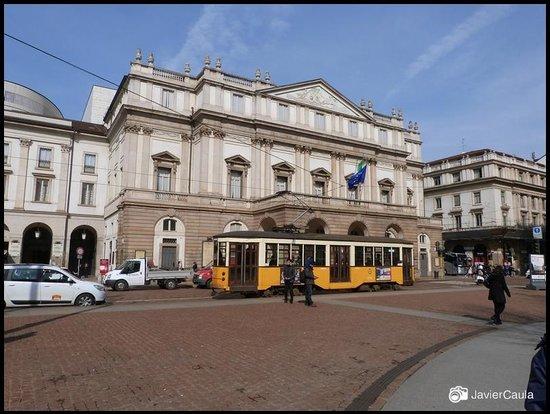 Scala de Milan (Teatro alla Scala) : Vista