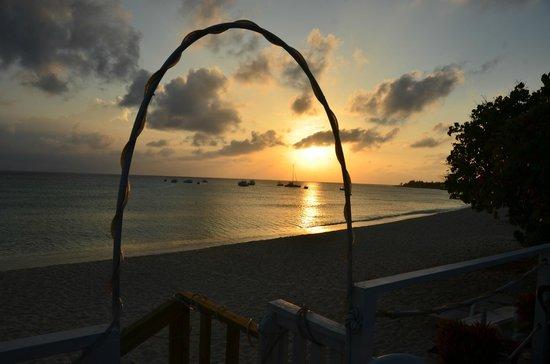 Alfresco Restaurant : Sunset view
