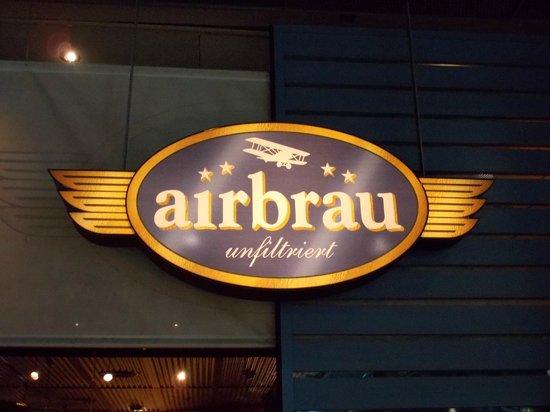 Airbraeu Brauhaus : 看板