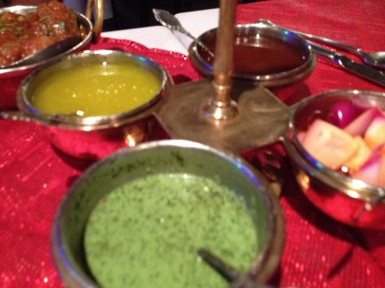 Tantra: Condiment selection