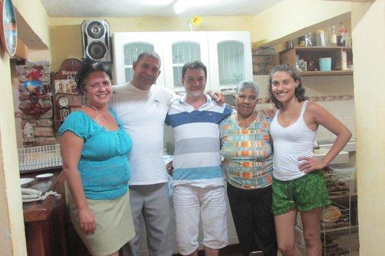 Hostal Casa Mia: Con toda la familia
