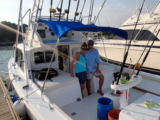 Big Buoy Fishing Charters: the boat