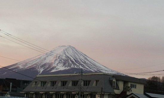 Shiki no Yado Fujisan: 部屋からの富士山