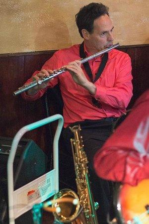 DK Italian Kitchen: Pat Crawford on sax & flute