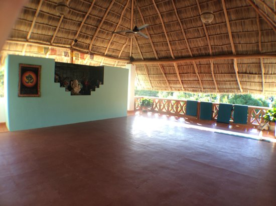 Hotelito Los Suenos: The yoga studio