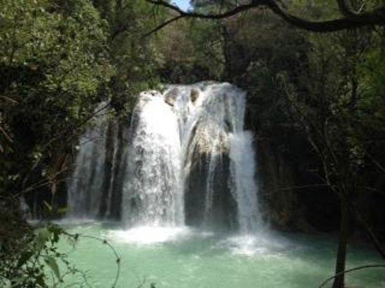 Cascada El Chiflon: Waterfall