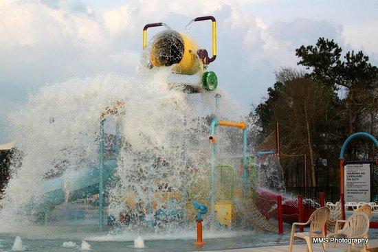 La Torretta Lake Resort & Spa : Waterpark area
