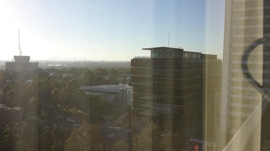 Novotel Sydney Olympic Park: You can see city in the distance