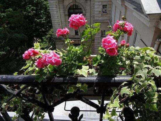 Hôtel Résidence Henri 4 : Lovely balcony