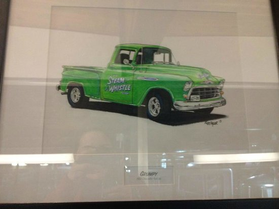 Steam Whistle Brewery: Pictures of some of their vehicles
