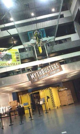 Museum of Science and Industry: Mythbusters Exhibit